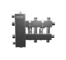 BMSS-100-3DU (до 100 кВт, подкл. котла G 1¼″, 1+1+1 контура G 1″, зеркально-матовая полировка)