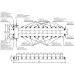 Балансировочный коллектор BM-150-11DU (гидрострелка до 150 кВт с коллектором на 11 контуров)